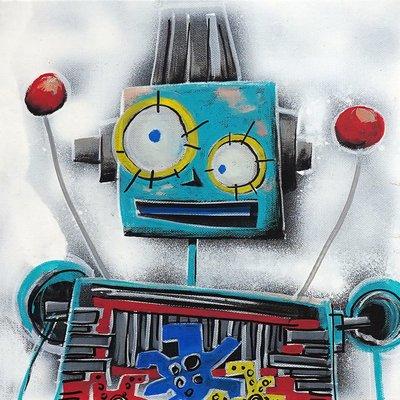 [A1081-0065] I'm robot series 04