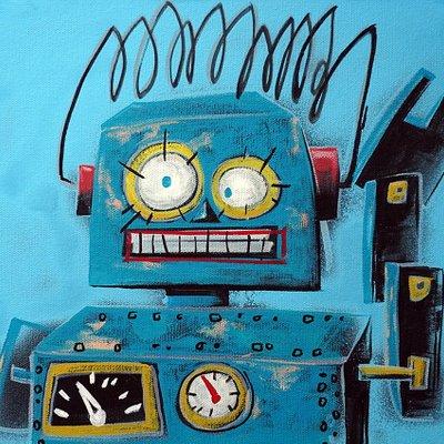 [A1081-0066] I'm robot series 03