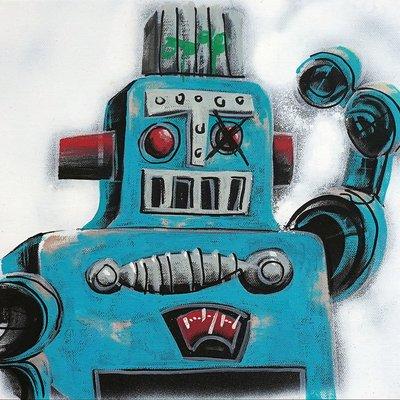 [A1081-0068] I'm robot series 02