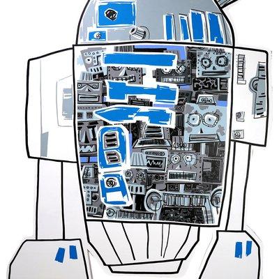 [A1081-0077] R2d2 robot