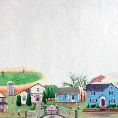 [A1082-0030] Landscape Cabinet 2
