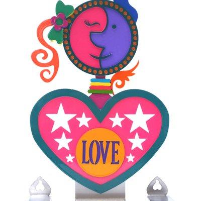 [A1085-0236] Love-9-2 (양면채색, 스탠드 벽걸이 동시 가능)