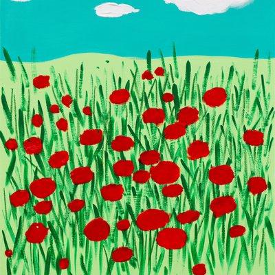 [A1097-0014] 꽃밭