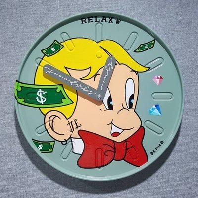[A1099-0003] RELAX (clock) 릴렉스 벽시계