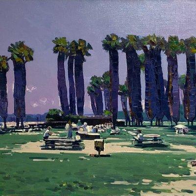 [A1101-0025] 라구나비치의 휴일-캘리포니아
