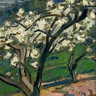 [A1101-0113] 4월의 향기-배꽃