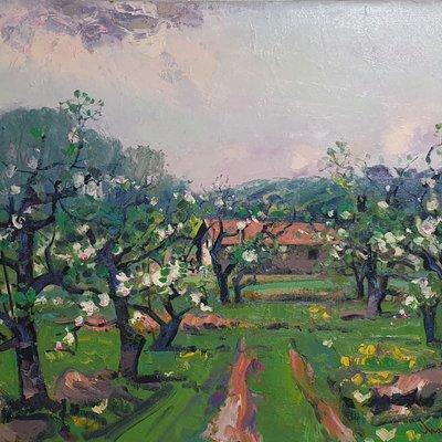 [A1101-0154] 4월의 향기-사과나무