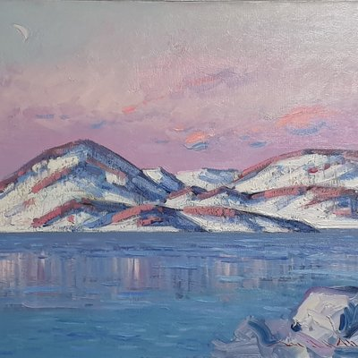 [A1101-0169] 북해도의 겨울-도야코 호수