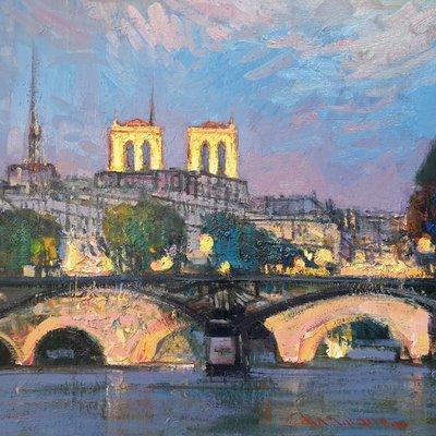 [A1101-0255] 파리의 밤