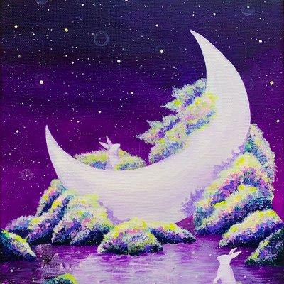 [A1106-0028] 달, 밤