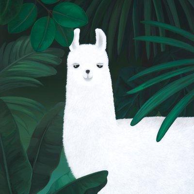 [A1114-0008] 숲속 라마