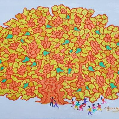[A1123-0043] 왕버드나무40(king tree)