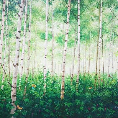 [A1136-0023] 숲-소풍