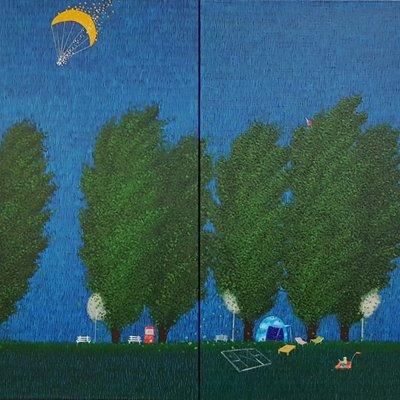 [A1136-0088] 미루나무 소리