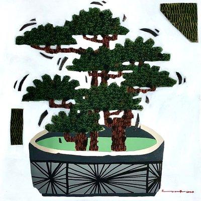 [A1141-0028] 송목분유도(松木盆遊圖)