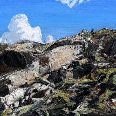 [A1149-0007] 산 풍경