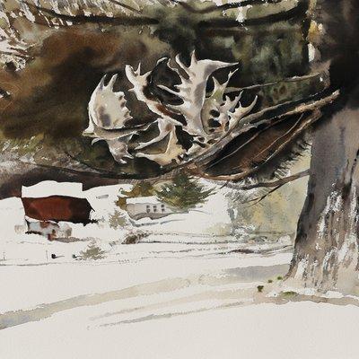 [A1149-0044] 겨울 농장