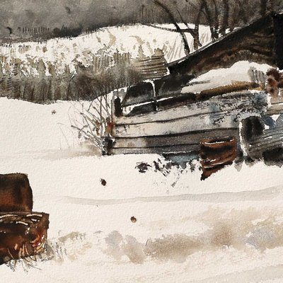 [A1149-0115] 겨울 창고