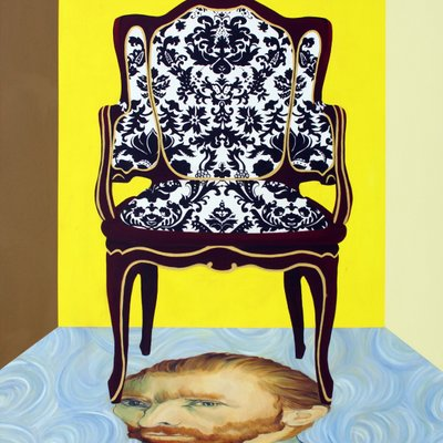 [A1156-0001] 의자가 있는 방 1
