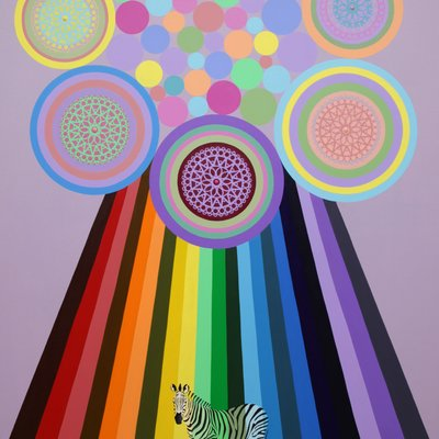 [A1182-0007] Rainbow Tree
