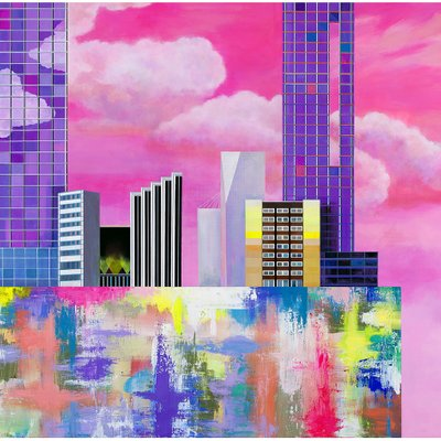 [A1190-0006] Plastic city_pink