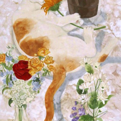 [A1193-0010] 꽃 향기 밭