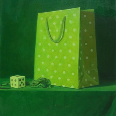 [A1196-0015] Green #5 dice