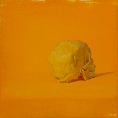 [A1196-0024] Yellow #5 skull