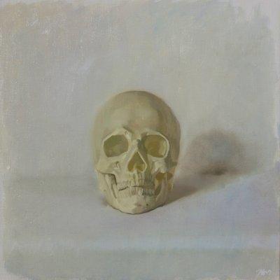 [A1196-0028] White #2 skull