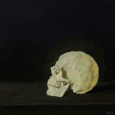 [A1196-0030] Black #1 skull