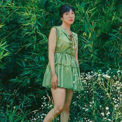 [A1196-0031] Green #6 green elf(죽림요정)