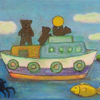 [A1198-0049] 곰가족의 소풍