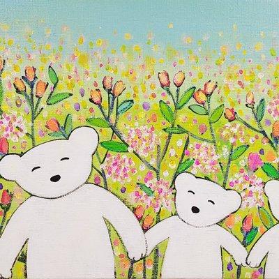 [A1198-0102] 곰가족의 행복한 시간