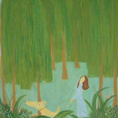 [A1206-0036] 버들나무 산책길