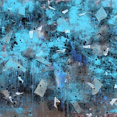 [A1213-0013] WAFT series - 상실의 시선_2018_Acrylic on Canvas_162.2 x 130.3cm