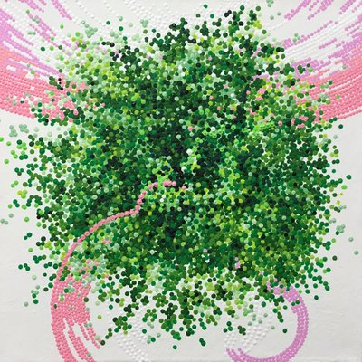 [A1220-0014] Tree and Pink