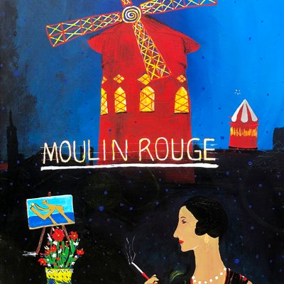[A1225-0026] Moulin Rouge