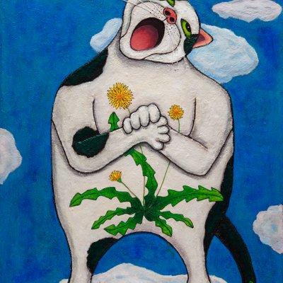 [A1238-0005] 노래하는 고양이
