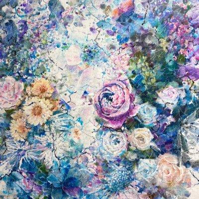 [A1251-0009] 여자 꽃2