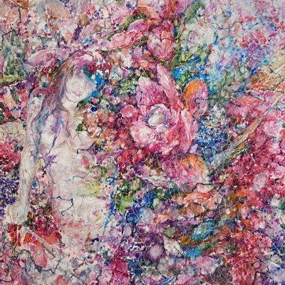 [A1251-0016] 여인·꽃 12 (女人花)