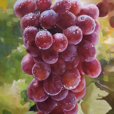 [A1253-0001] Grape+결실
