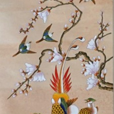 [A1254-0007] 花鳥圖 [ 화조도 ]