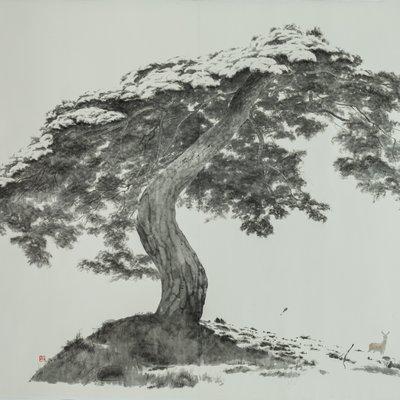 [A1257-0034] 우산이 되어주는 나무