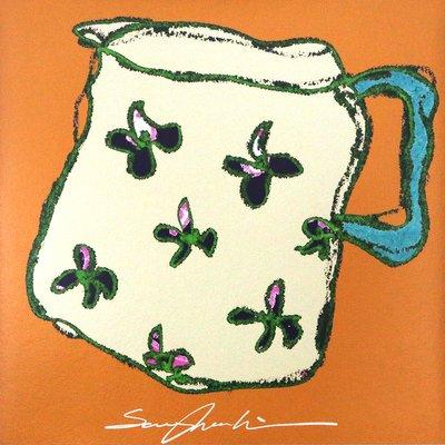 [A1262-0002] Afternoon tea series - Milk jar 2
