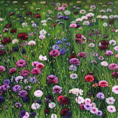 [A1264-0002] 꽃밭에서