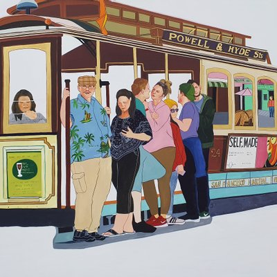 [A1269-0005] San Francisco cable car