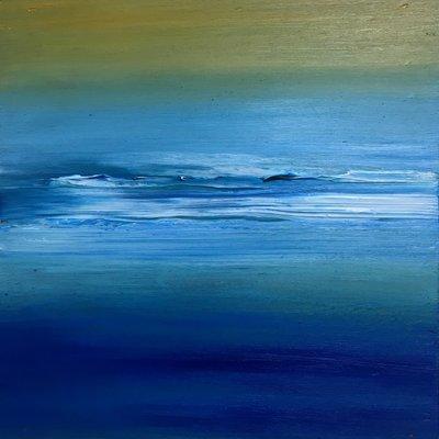[A1275-0045] deep blue ocean atmosphere