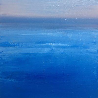 [A1275-0066] Purple sky and ocean