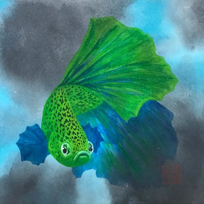 [A1332-0004] Leopardfish
