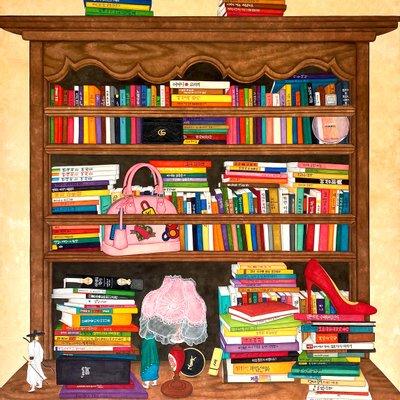 [A1336-0002] 책 읽는 여자